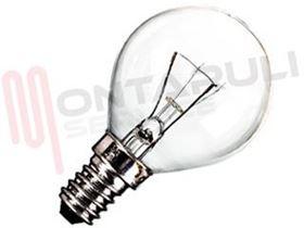 Immagine di LAMPADA SFERA CHIARA E14 15W 230V ASTOR