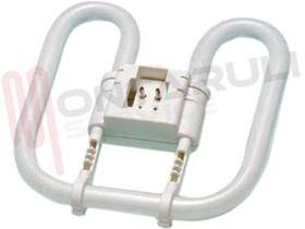 Picture of LAMPADA 2D 16W/41-827 2PIN CFL SQUARE LUCE CALDA RESA/75W