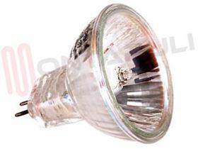 Immagine di LAMPADA DICROICA 50W 12V CON VETRO D50 60° GU5,3