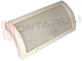 Plafoniere Quadrate Neon Ufficio : Plafoniera diffusore luce folio applique bianco 24w lampada 2g11
