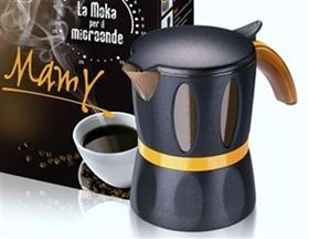 Picture of MAMY MOKA PER MICROONDE BLACK