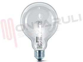 Picture of LAMPADA GLOBO E27 70W 230V HALOGEN CHIARA RESA/91W