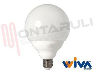 Lampade A Globo A Risparmio Energetico : Lampada led sfera e bassoconsumo risparmio energetico wivagroup