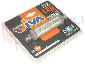 Immagine di LAMPADA A LED R7S 10W 3000K LUCE NATURA RESA/78W L=118MM.