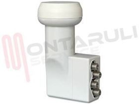Picture of LNB CONVERTITORE UNIVERSALE 4 OUT UX-QD 287146