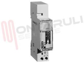Picture of INTERRUTTORE ORARIO 1 MOD. DIN BACK-UP TIME 100H 03740