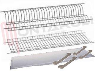 Scolapiatti 76 cm universale antirugine pensile incasso montaruli service ricambi - Scolapiatti da incasso ikea ...