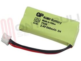 Picture of BATTERIA 2,4V 600MAH FOR CORDLESS PHILIPS KALA/XALIO