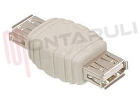 Picture of ADATTATORE USB FEMMINA A USB FEMMINA