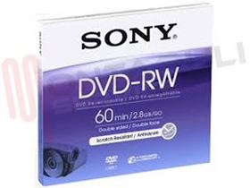 Picture of DVD-RW 5X 2.8GB/60MIN 8CM.