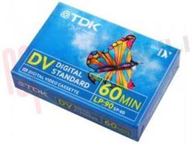 Picture of CASSETTA VIDEO DIGITAL 60 DVM60 TDK