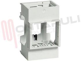 Picture of ADATTATORE BARRA DIN 1MODULO QUADRO SERIE MAGIC