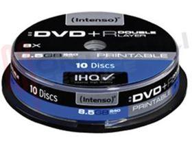 Immagine di DVD+R 8X 8.5GB/240MIN PRINTABLE/IMPRIMABLE