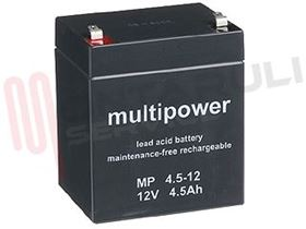 Picture of BATTERIA 12V 4500AH AL PIOMBO MULTIPOWER