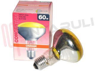 Plafoniere Gialla : Lampada spot r e w v concentra gialla colorata osram