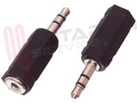 Picture of ADATTATORE AUDIO 1 JACK MASC 3,5MM / 1 JACK FEMM 2,5MM STER