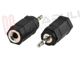 Picture of ADATTATORE AUDIO 1 JACK MASC 2,5MM / 1 JACK FEMM 3,5MM STERE