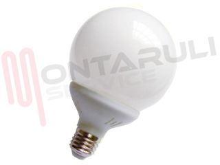 Lampade Globo A Basso Consumo : Lampada globo sfera w e calda basso consumo fluorescente wiva