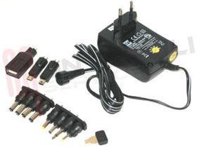 Immagine di ALIMENTATORE SWITCHIHG 1500MA 8 SPINOTTI + 3 USB UNIVERSALE