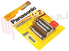 Picture of BATTERIA 1,5V LR03 6X POWER AAA MINISTILO