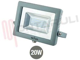 Picture of PROIETTORE LED 20W 3000°K 220-240V IP65 SLIM CLEAR