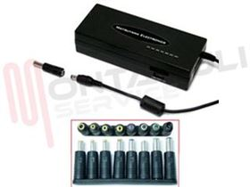 Picture of ALIMENTATORE UNIVERSALE NOTEBOOK 120W 15-24VDC 6A + USB 1A