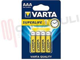 Picture of BATTERIA 1,5V LR03 4X SUPERLIFE AAA VARTA