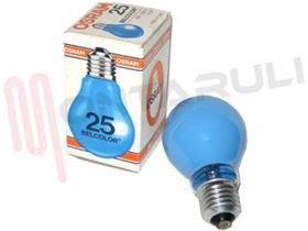 Picture of LAMPADA GOCCIA BELCOLOR BLU E27 25W 230V