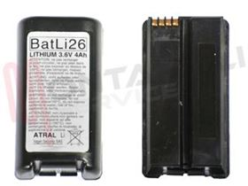 Picture of BATTERIA 3,6V X2 4AH AL LITIO