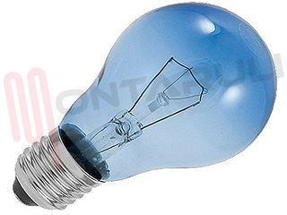 Plafoniere Quadrate Philips : Lampada goccia colorata blu vetro azzuro 25w philips solare