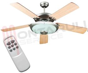 Picture of VENTILATORE A SOFFITTO CON LUCE PALA 130CM.