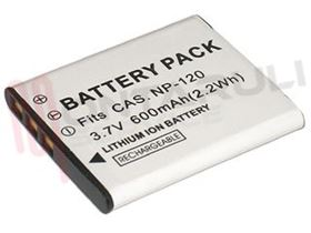 Picture of BATTERIA 3,7V 600MAH COMPATIBILE PER FOTOCAMERA CASIO