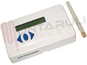 Immagine di COMBINATORE TELEFONICO GSM C/DISPAY 2 CANALI ALLARME
