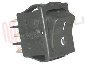 Picture of DEVIATORE BIPOLARE NERO 16A 250V I-O