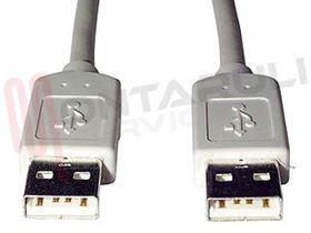 Immagine di CAVO USB 2.0 A USB MAS-MAS 1.8MT GRIGIO