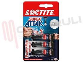 Picture of ATTACK LOCTITE 3X1GR. GEL POWER FLEX ORIGINAL
