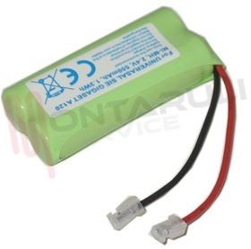 Picture of BATTERIA 2,4V 550MAH FOR CORDLESS GIGASET A120