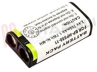 Dettagli su NUOVA BATTERIA RICARICABILE ORIGINALE 2.4V 550mAh BP HP550 11 per Cuffie Sony mostra il titolo originale