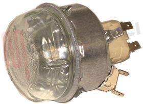 Immagine di PORTALAMPADA COMPLETO DI LAMPADA 40W 300°C C/TERMOFUSIBILE